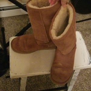 Authentic Ugg chestnut boots